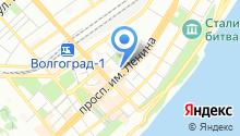 Волгафарм-Волгоград, ГУП на карте