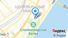 Волгоградская областная клиническая стоматологическая поликлиника на карте
