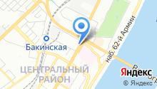Банкомат, КБ Русюгбанк, ПАО на карте