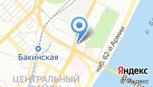 Hilton Garden Inn Volgograd на карте