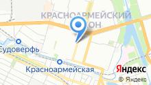 CNI на карте