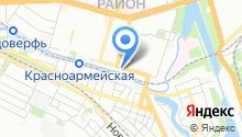 Шина на карте