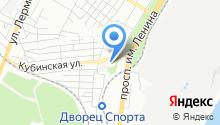 DЭНАС на карте