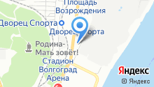 Волгоградский центр научно-технической информации, ФГБУ на карте