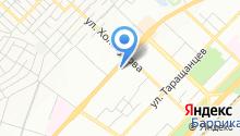 Магазин автозапчастей и автоаксессуаров на ул. Маршала Еременко на карте