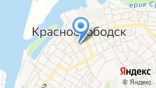 Администрация городского поселения г. Краснослободск на карте