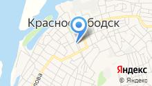 Краснослободская детская школа искусств на карте