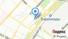 Юридический отдел на карте