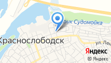 ЗАГС г. Краснослободска на карте