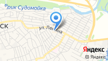 Магазин садово-хозяйственных товаров на ул. Ленина на карте