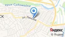 Краснослободское на карте