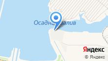 Волжский порт на карте