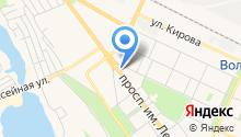 Волжская межвузовская научно-техническая библиотека на карте