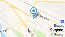 Волгоградский областной клинический кожно-венерологический диспансер на карте