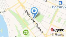 Волжская городская дума на карте
