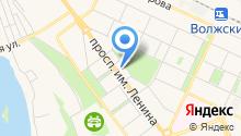 Волжская городская Дума Волгоградской области на карте