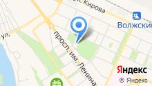 Волжский русский народный оркестр им. Н.Н. Калинина на карте