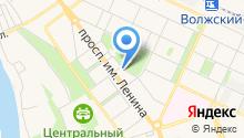 Волжский городской комитет КПРФ на карте