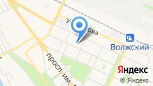 Волжская городская станция по борьбе с болезнями животных на карте