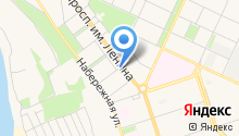 Бухгалтерская компания на карте