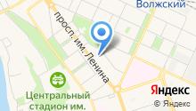 Волгоградский областной онкологический диспансер №3 на карте