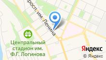 Банкомат, АКБ Росбанк на карте