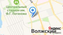Волгоградский областной противотуберкулезный диспансер №7 на карте