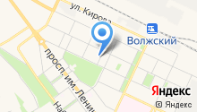 Волжский политехнический институт на карте
