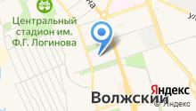 Волгоградский областной клинический противотуберкулезный диспансер на карте