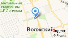 Бюро печати на карте