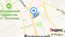 Банкомат, Банк Возрождение на карте