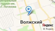 Волжский институт строительства и технологий на карте