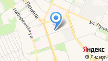 Okline на карте