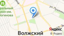 ВолгаЛазер на карте
