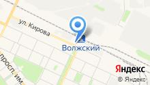Автобусные линии на карте