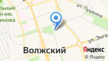 Волжский драматический театр на карте