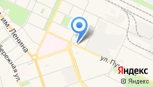 Аксар на карте
