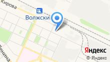 Волжская автошкола на карте