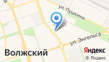 Благо Дарю Волжский на карте