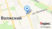 Волжский городской совет ветеранов на карте