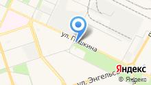 Волгоградский областной киновидеоцентр на карте