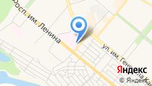 Волгоградский областной уронефрологический центр на карте