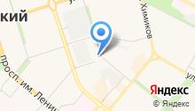 Волжский промышленно-технологический техникум на карте