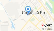 Светлоярский детский сад №3 на карте