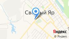 Магазин зоотоваров на ул. 1-й микрорайон на карте