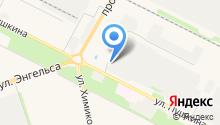 Волгоградский областной бизнес-инкубатор, ГАУ на карте