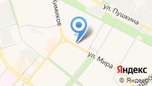 Волжские колбасы на карте