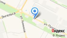 Волжская городская больница №2 на карте