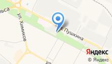 Волжанка-II на карте