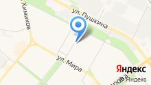 Аграфена на карте